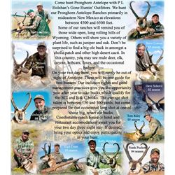 3-day New Mexico Pronghorn Hunt for One Hunter