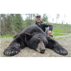 6-day Saskatchewan Black Bear Hunt for One Hunter