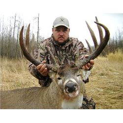 5 or 6-day Kansas Midwestern White-tailed Deer Hunt for One Hunter