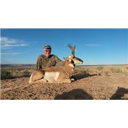 3-day Utah Pronghorn Hunt for One Hunter