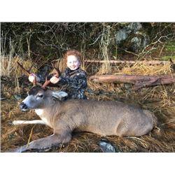 6-day Alaska Sitka Black-Tailed Deer and Duck Hunt for One Hunter
