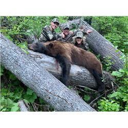 6-day Idaho Black Bear Hunt for One Hunter