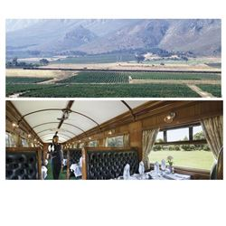 Voucher for 2 Night Rovos Rail South Africa Trip for 2