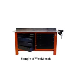 Heavy Gauge Steel Workbench