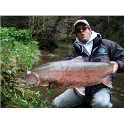 2-day Alaska Salmon, Dolly Varden and Trout Fishing Trip for One Angler