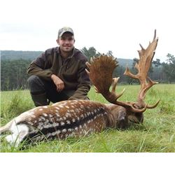 4-day/3-night Wisconsin Fallow Deer Hunt for One Hunter and One Observer
