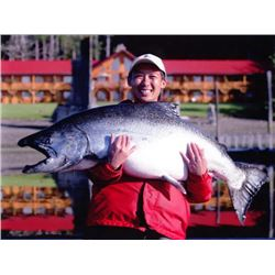 4-day British Columbia Salmon, Lingcod and Halibut Fishing Trip for Two Anglers