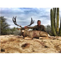 5-day Mexico Desert Mule Deer Hunt for Two Hunters