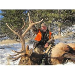 6-day Montana Rocky Mountain Elk and Deer Hunt for One Hunter