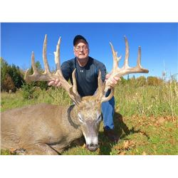 5-day Wisconsin Silver-Medal Northeastern White-tailed Deer for One Hunter and One Non-Hunter