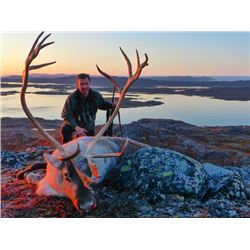 5-day Greenland Reindeer Hunt for One Hunter and One Observer