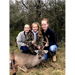 3-day Texas White-tailed Management Deer and Wild Boar Hunt for Two Hunters and Two Observers
