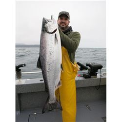 3-day Alaskan Salmon and Halibut Fishing Trip for Two Anglers