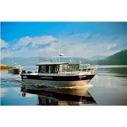 4-nights/3-days Alaska Salmon, Halibut and Trout Fishing Trip for One Angler and One Non-Angler