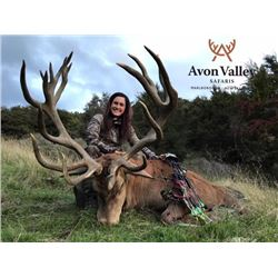 5-day New Zealand Red Deer Hunt for One Hunter and One Observer