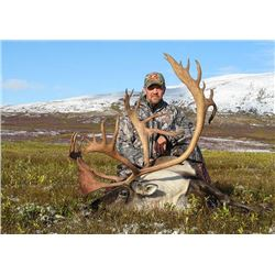 7-day Alaska Barren-Ground Caribou Hunt for One Hunter