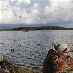 7-day Alaska Coho Salmon and Duck Cast and Blast for Two Hunters