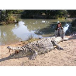 7-day South Africa Nile Crocodile Hunt for One Hunter and One Observer