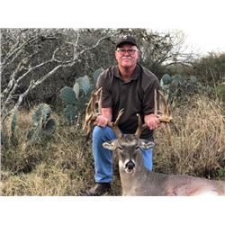 3-day Texas White-Tailed Deer, Javelina (Collared Peccary) and Bass Fishing for One Hunter