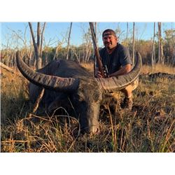 5-day Australian Asiatic Water Buffalo Hunt for One Hunter and One Observer