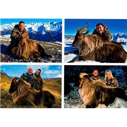 5-day New Zealand Tahr Hunt for One Hunter and One Observer