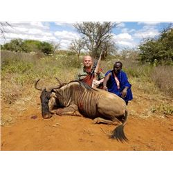 10-day Tanzania Cape Buffalo and Plains Game Safari for One Hunter and One Observer
