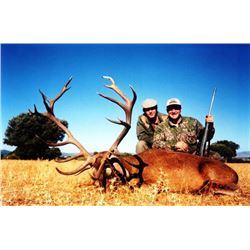 5-day Spanish Hunt for Choice of One Species for Two Hunters