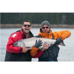 3-day Haida Gwaii Salmon & Halibut Fishing Trip for Two Anglers