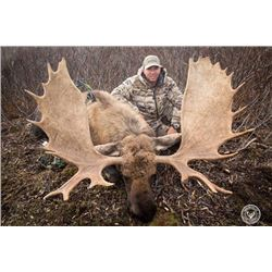 10-day Western Canadian Moose Hunt for One Hunter