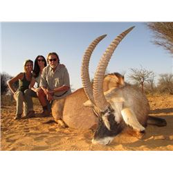 8-day South Africa Gold-Medal Southern Roan Antelope Hunt for One Hunter and One Observer