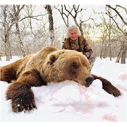 6-day Kamchatka Brown Bear Hunt for One Hunter
