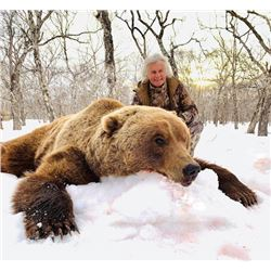 6-day Kamchatka Brown Bear Hunt for One Hunter