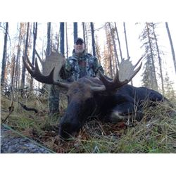 6-day Alberta Western Canada Moose Hunt for Two Hunters