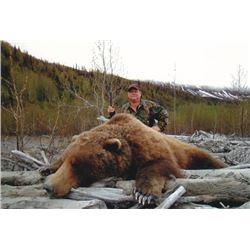10-day Alaska Brown Bear Hunt for One Hunter