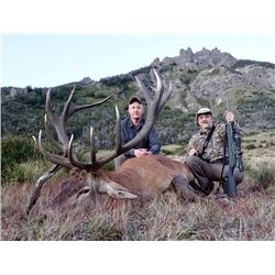 5-day Argentina Red Deer Hunt for One Hunter and One Observer