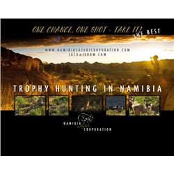 7-day Namibia Safari for Four Hunters