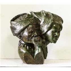 Green Verdite Sculpture