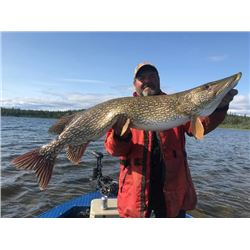 5-day/4-night Saskatchewan Fishing Trip for Northern Pike, Arctic Grayling and Lake Trout for Four A