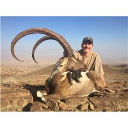 3-day Pakistan Sindh Ibex Hunt Up To 39 Inches for One Hunter
