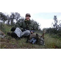 5-day Spanish European Roe Deer Hunt & Bullfight in Private VIP Box for One Hunter and One Observer