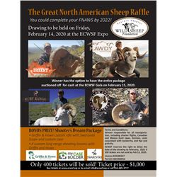 The Great North American Sheep Raffle