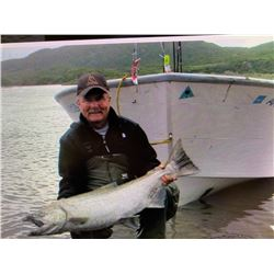 5 Nights/5 Days (3 Full Days) Kenai Alaska Fishing Trip for 2