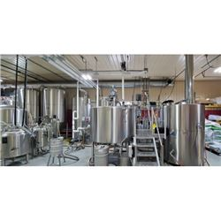 Private Brewery Tour & Beer Tasting for 8 People