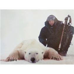 Guided 10-Day Arctic Polar Bear Hunt for 1 Hunter