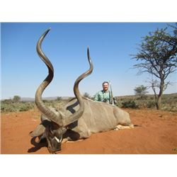 7-Day Six Trophy Spiral Horn African Safari for 2 Hunters