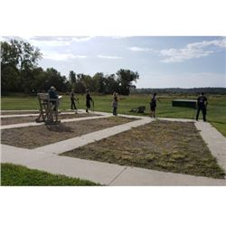 Private Access to Gun Club Range for 4 People