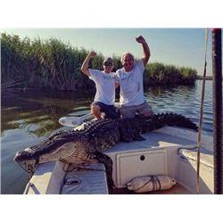 1-Day Florida Alligator Gator Hunt for 2 People