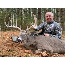 3-Day/4-Night Guided Ohio Whitetail Hunt for 2 Hunters