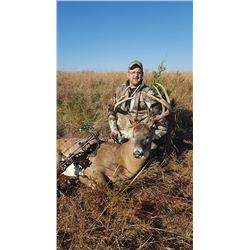 5-Day Trophy Whitetail Hunt for One (1) Hunter in Kansas