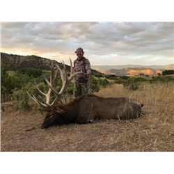 3-Day Fully Guided Bull Elk Hunt in Colorado for One (1) Hunter and One (1) Non-Hunter
